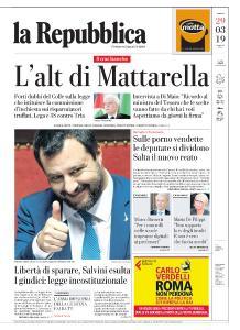 la Repubblica - 29 Marzo 2019