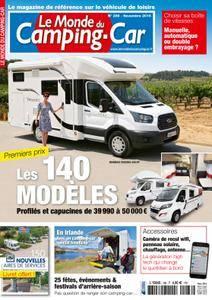 Le Monde du Camping-Car - novembre 2016