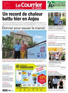 Le Courrier de l'Ouest Nord Anjou – 24 juillet 2019