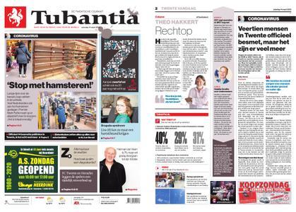 Tubantia - Hengelo – 14 maart 2020