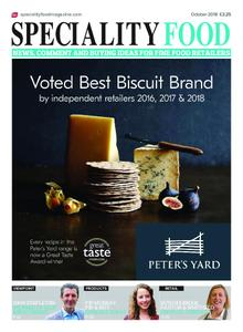 Speciality Food – October 2018