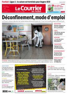 Le Courrier de l'Ouest Angers – 29 avril 2020