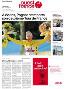 Ouest-France Édition France – 19 juillet 2021