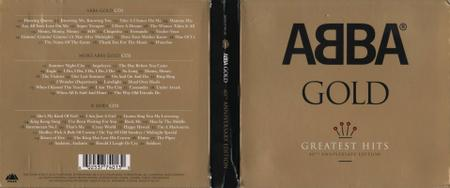ABBA - Gold: Greatest Hits (2014) [3CD, 40th Anniversary Edition] Repost