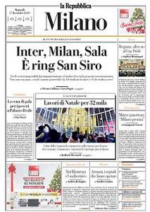 la Repubblica Milano - 17 Dicembre 2019
