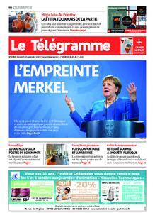 Le Télégramme Quimper – 24 septembre 2021