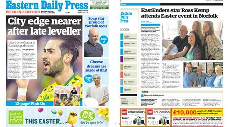 Eastern Daily Press – April 20, 2019
