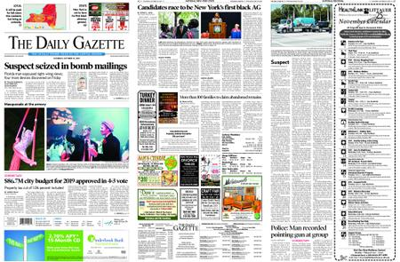 The Daily Gazette – October 27, 2018