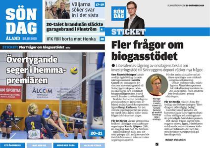 Ålandstidningen – 20 oktober 2019