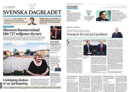 Svenska Dagbladet – 21 augusti 2019