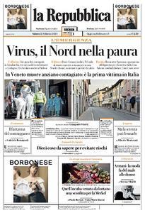la Repubblica - 22 Febbraio 2020