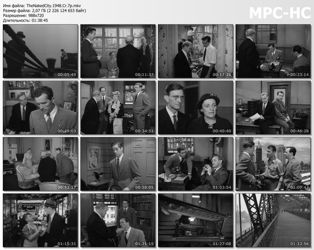 The Naked City (1948) [Criterion Collection]
