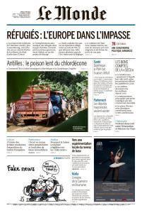 Le Monde du Jeudi 7 Juin 2018