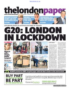 The London Paper 31 March 2009