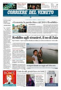 Corriere del Veneto Vicenza e Bassano – 05 gennaio 2019