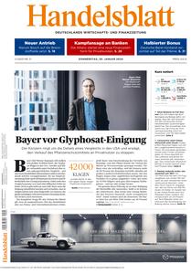 Handelsblatt - 30. Januar 2020