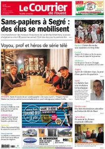 Le Courrier de l'Ouest Nord Anjou – 13 mai 2019