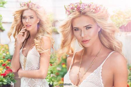 Sandra Kubicka - Morning Glory by Karolina Pospiszyl photoshoot
