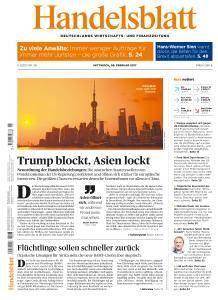 Handelsblatt - 8 Februar 2017