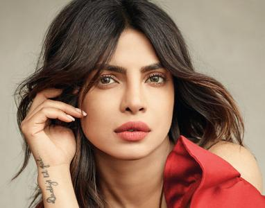 Priyanka Chopra by Mark Seliger for ELLE India March 2018