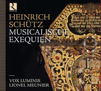 Lionel Meunier, Vox Luminis - Schütz: Musicalische Exequien (2011)