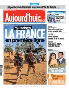 Aujourd'hui en France – 14 mai 2019