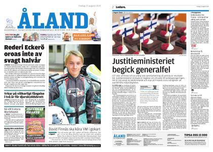 Ålandstidningen – 23 augusti 2019