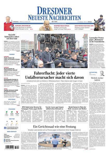 Dresdner Neueste Nachrichten - 8 Februar 2017