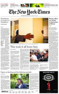 International New York Times - 02 July 2018