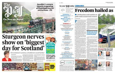 The Press and Journal Moray – July 16, 2020
