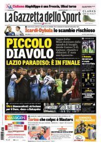 La Gazzetta dello Sport Roma – 25 aprile 2019