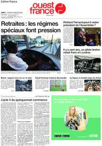 Ouest-France Édition France – 13 septembre 2019