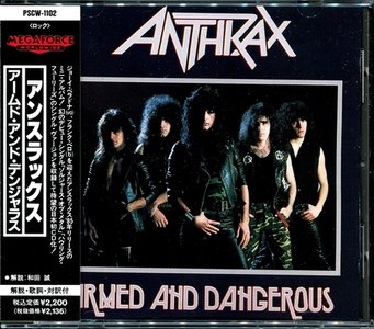 Anthrax - Armed And Dangerous (1985) (Japanese PSCW-1102)