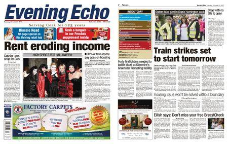 Evening Echo – October 31, 2017
