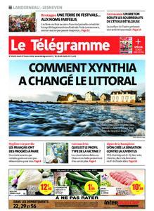 Le Télégramme Landerneau - Lesneven – 27 février 2020