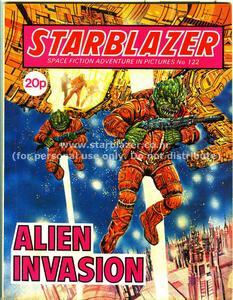 Starblazer 122 - Alien Invasion (1984) (PDFrip