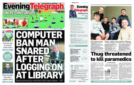 Evening Telegraph First Edition – February 20, 2019