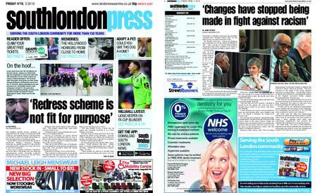 South London Press – April 05, 2019