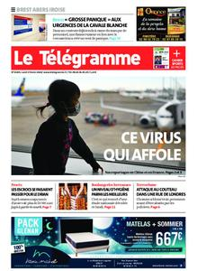 Le Télégramme Brest Abers Iroise – 03 février 2020