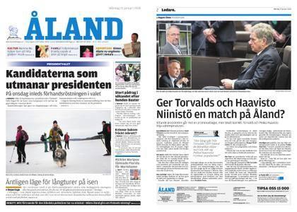 Ålandstidningen – 15 januari 2018