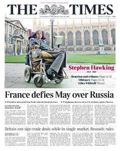 The Times - 15 March 2018