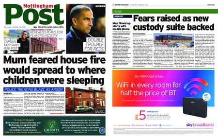 Nottingham Post – October 24, 2019