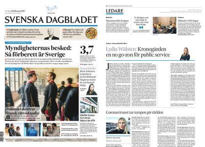 Svenska Dagbladet – 28 februari 2020