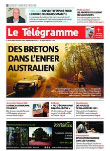 Le Télégramme Brest Abers Iroise – 14 janvier 2020