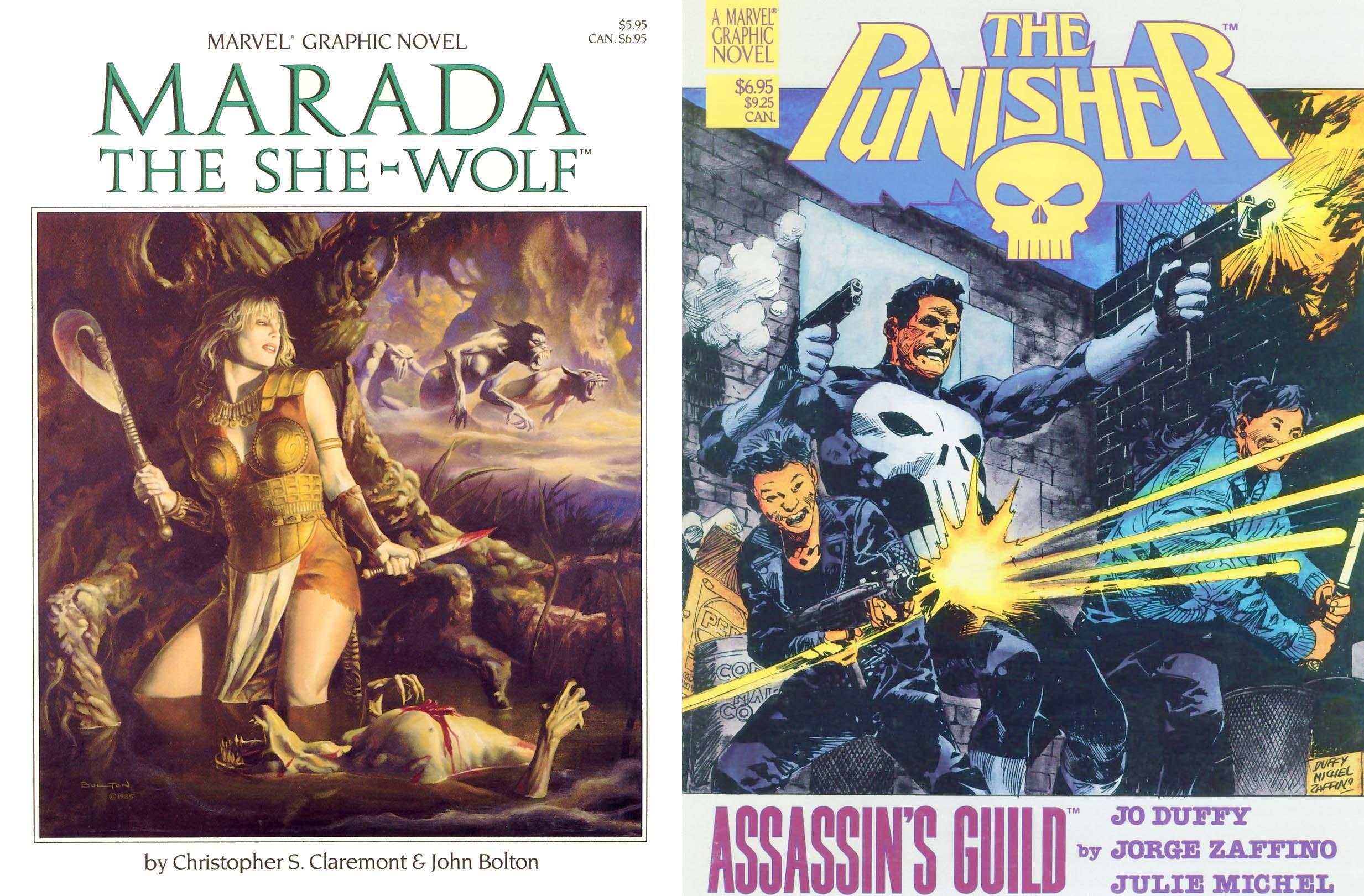 Marvel Graphic Novels #21-40 Compilation (Part 2)