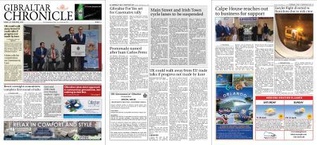 Gibraltar Chronicle – 28 February 2020