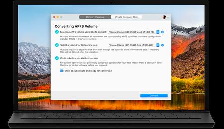 Paragon APFS to HFS+ Converter 1.0