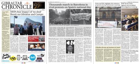 Gibraltar Chronicle – 13 October 2018