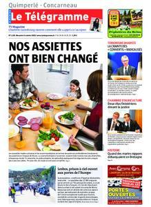 Le Télégramme Concarneau – 06 octobre 2019