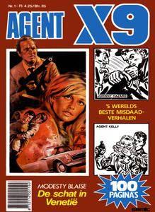 Agent X9 Tijdschrift - 1984 - 01
